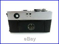Leitz Leica M5 Kamera BODY 1291520 mit Zubehör jl093