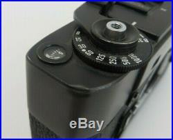 Leitz Leica M5 Wetzlar Germany camera body 1290244 Sucherkamera schwarz ym036