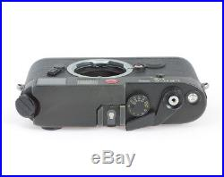 Leitz Leica M6 #1783957 Black Camera Body