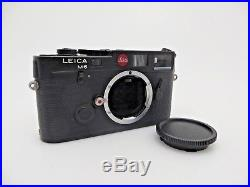 Leitz Leica M6 Kamera Body black 1710915 jf208