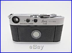 Leitz Leica MP 4 A230 Viewfinder Camera CHROME Mint 1636757 1913-1983 jc094