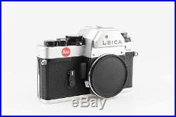 Leitz Leica R3 electronic Kamera Body R 3 silber 83814