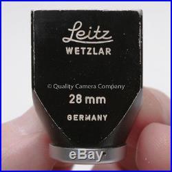 Leitz Leica SLOOZ 28mm Finder VINTAGE WETZLAR WIDE ANGLE FINDER BLACK