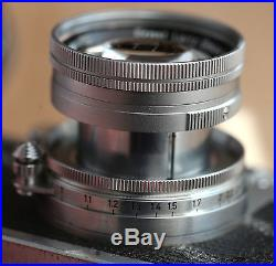 Leitz Leica Screw mount collapseable 50mm Summicron exceptional
