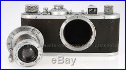 Leitz Leica Standard chrom mit Elmar und FOKOS #Noa