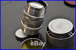 Leitz Leica Summarex F= 8.5cm 11.5 lens Modified M39 for Mirrorless Cameras