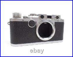 Leitz Wetzlar Leica IIF Red Dial 35mm Rangefinder Camera Body Nr. 611692
