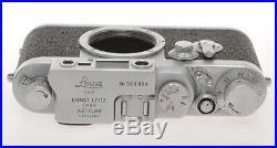 Leitz, nice 35mm rangefinder camera Leica IIIIG III G n. 969904 c. 1959