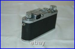 Leotax-F RARE Vintage 1954 Japanese Rangefinder Camera. Service. 544414. UK Sale