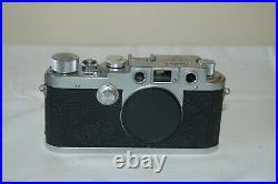 Leotax-K3 RARE Vintage 1956 Japanese Rangefinder Camera. Service 577215. UK Sale