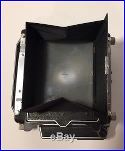 Linhof Technika III Large Format Vintage Rangefinder Camera WithLens No Reserve
