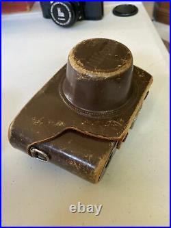 MINT 1955 Nikon S2 Vintage Rangefinder Camera Nikkor S. C 5cm 50mm f/1.4 withcase