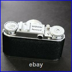 Mint VOIGTLÄNDER PROMINENT I Kamera + Zeiss TESSAR 50mm f2.8