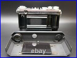 N MINT Nikon S2 Rangefinder 35mm Film Camera with 50mm f/2 standard Lens JAPAN