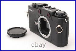 N MINT++ VOIGTLANDER BESSA T Black RANGEFINDER Film Camera with Trigar Winder
