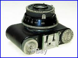 Nagel Pupille 5cm F-3.5 Leica Elmar Lens, Leitz Rangefinder, Case, Ship Worldwide