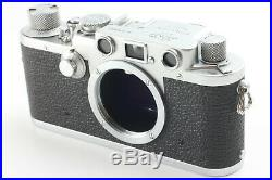 NEAR MINT+++Leica IIIf Rangefinder Camera withELMAR 50mm f/3.5 from Japan C590R