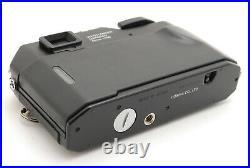 NEAR MINT- VOIGTLANDER BESSA R Black RANGEFINDER Film Camera from Japan