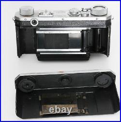 NIKON M RANGEFINDER Camera and 50mm f/2 lens Serial #6093238