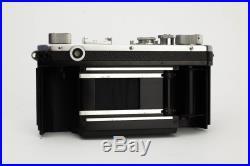 NIKON S Rangefinder Camera With 50mm 1.4 Nikkor S. C. Lens, Case and New Skin