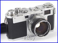 NIKON S2 NIKKOR S. C F/1.4 50mm RANGEFINDER KAMERA Sucherkamera