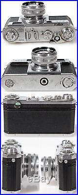 NIKON S2 RANGEFINDER With NIKKOR-S 50MM F1.4 LENS AND CASE