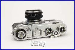 NIKON S2 Rangefinder Camera With 50mm 1.4 Nikkor S. C. Lens, Filter and New Skin