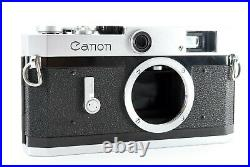 Near MINT Canon P Rangefinder Film Camera Body leica L39 mount From JAPAN #093