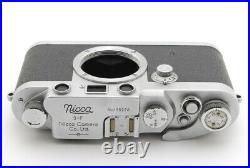 Near Mint +++Nicca type-III 3f 3-f III-f Rangefinder Film Camera LEICA #1315