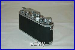 Nicca-3s RARE Vintage 1951 Japanese Rangefinder Camera. Serviced. 53160. UK Sale