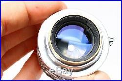 Nicca Iiis 35mm Leica Copy Rangefinder Camera + Canon 50mm F/1.8 Lens