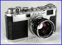 Nikon S-2, #6181755, Nikkor S-C 1.4/5, #369474 Second Version