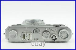 Nikon S Rangefinder Film Camera Body Chrome (parts/repair) #115