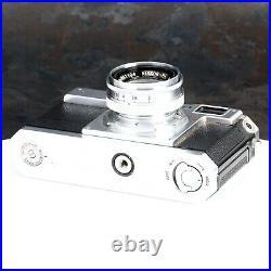 Nikon S2 35mm Film Rangefinder Camera with Nikkor-HC 5cm 50mm f2 Lens