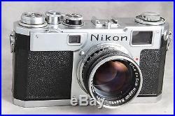 Nikon S2 Black Dial with 5cm 1.5Nikkor S. C, Nice User