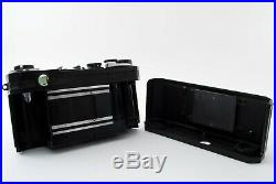 Nikon S2 Black Repainting Vintage Rangefinder Film Camera Near Mint #367461