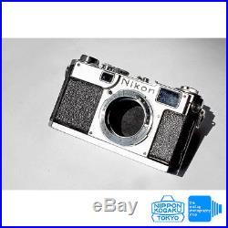 Nikon S2 Rangefinder Camera 50mm f2.5 Voigtlander Skopar S lens