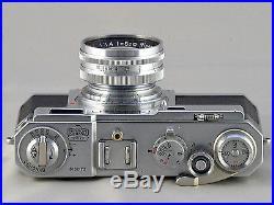 Nikon S2 Rangefinder film camera with Nikkor-S. C 5cm/1.4 lens Very clean 9+