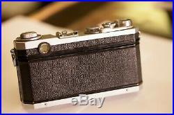 Nikon S2 Vintage Rangefinder Camera with 50mm F 1.4 Nippon Kogaku Nikkor S-C Lens