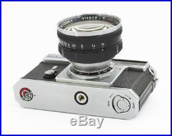 Nikon SP Nippon Kogaku Rangefinder Camera with rare Nikkor N. C 1.1/5 cm