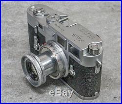Old Vintage Ernst Leitz Wetzlar Set Leica M3