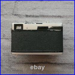 Olympus 35 EC Rangefinder 35mm Film Camera f/2.8 Tested Vintage Japan 42mm