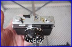 Olympus 35RD Rangefinder 40mm f/1.7 35mm F. Zuiko Lens Film Camera Vintage