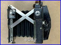 Plaubel Makina II Vintage Black medium format camera with backs & Film Holders