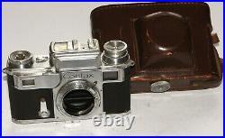 Pre-War 1936 Contax III Zeiss Ikon 35 mm RF camera body Excellent WORKING