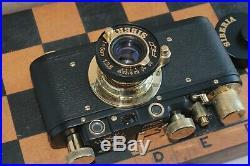 RARE FED SIBIR 35mm. Leica Rangefinder Film Camera USS Lens f3.5/50mm Sibiria