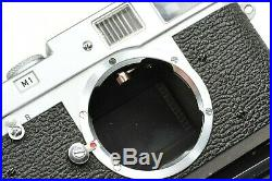 RARE LEICA M1 body from 1959 camera by Ernst Leitz Wetzlar, very clean example