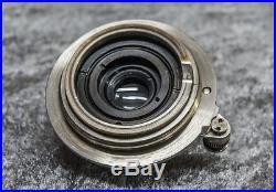 RARE Old Screw Mount Vintage Ernst Leitz Wetzlar Set Leica ll 1939 year