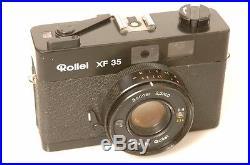 ROLLEI ROLLEIFLEX RANGEFINDER XF 35, XF35 With40MM 2.3 SONNAR. EXC++