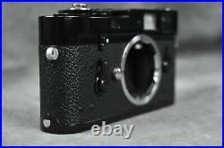 Rangefinder camera Leica M4 MOT Black